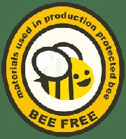 Produkt przyjazny Pszczołom - powstał bez użycia PESTYCYDÓW