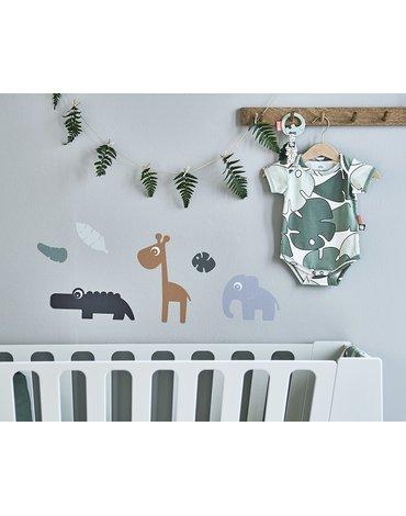 Done By Deer Tiny Tropics Naklejki Ścienne