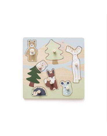 Kids Concept Edvin Puzzle Drewniane