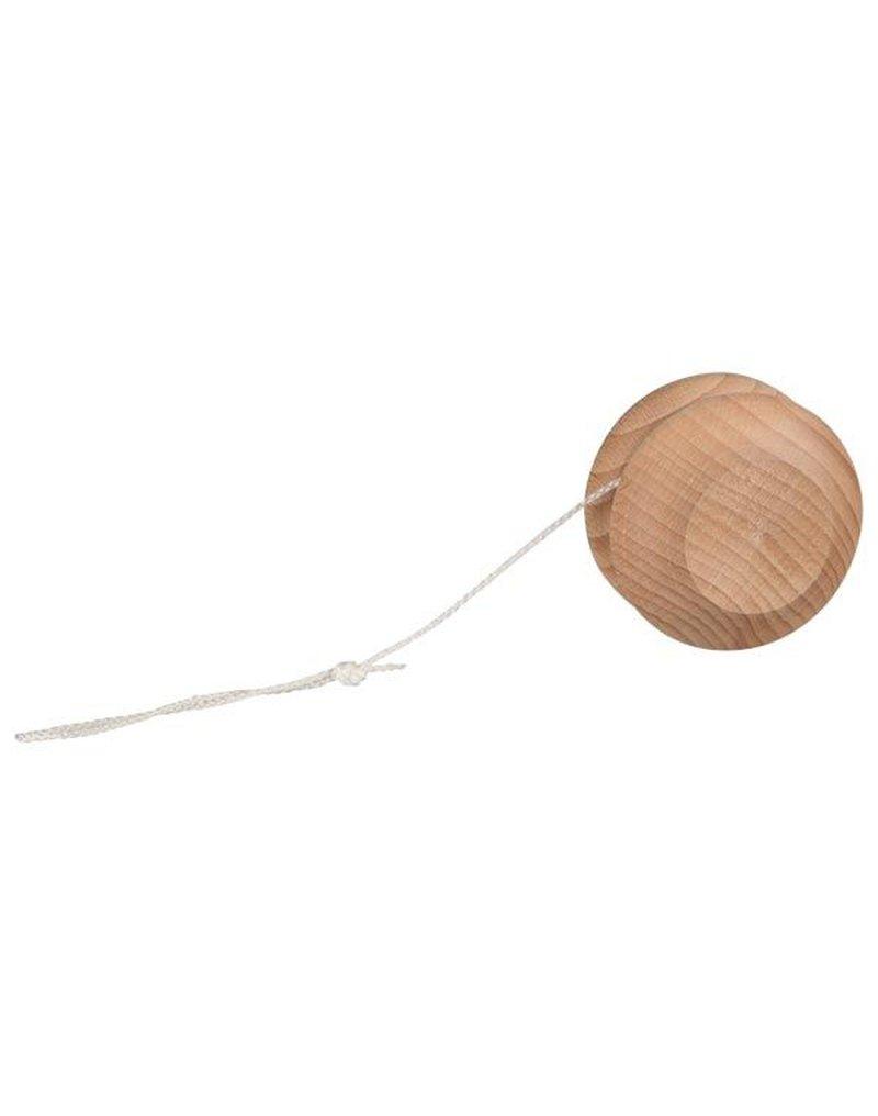 Goki® - Yo-Yo (Yoyo, Jo-Jo) w Kolorze Naturalnego Drewna, Goki