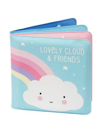 A Little Lovely Company - książeczka do kapieli Chmurka i Przyjaciele