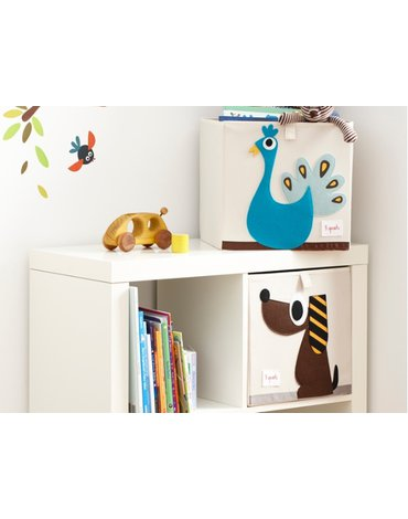 3 Sprouts Pudełko Na Zabawki Piesek