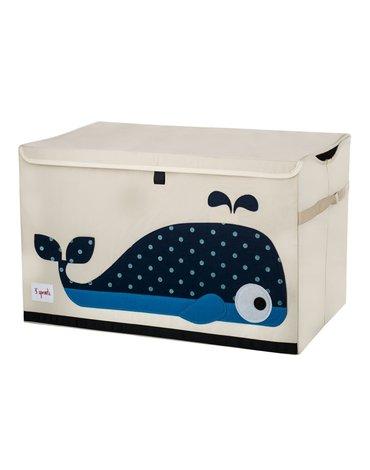 3 Sprouts Pudełko Zamykane Wieloryb