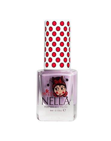 MISS NELLA - Bezzapachowy lakier do paznokci dla dzieci PEEL OFF Butterfly Wings