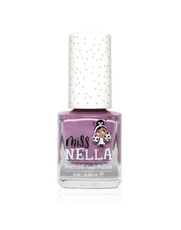 MISS NELLA - Bezzapachowy lakier do paznokci dla dzieci PEEL OFF Bubble Gum