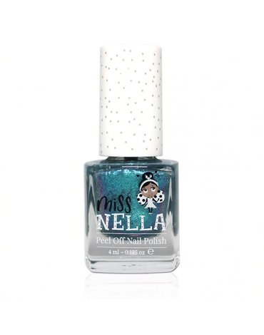 MISS NELLA - Bezzapachowy lakier do paznokci dla dzieci PEEL OFF Blue the Candles