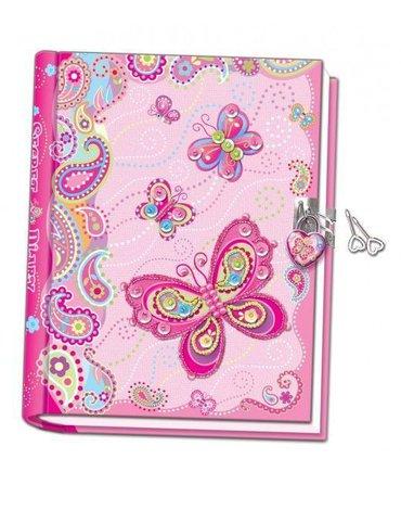 Pecoware - Ręcznie robiony pamiętnik z motylami