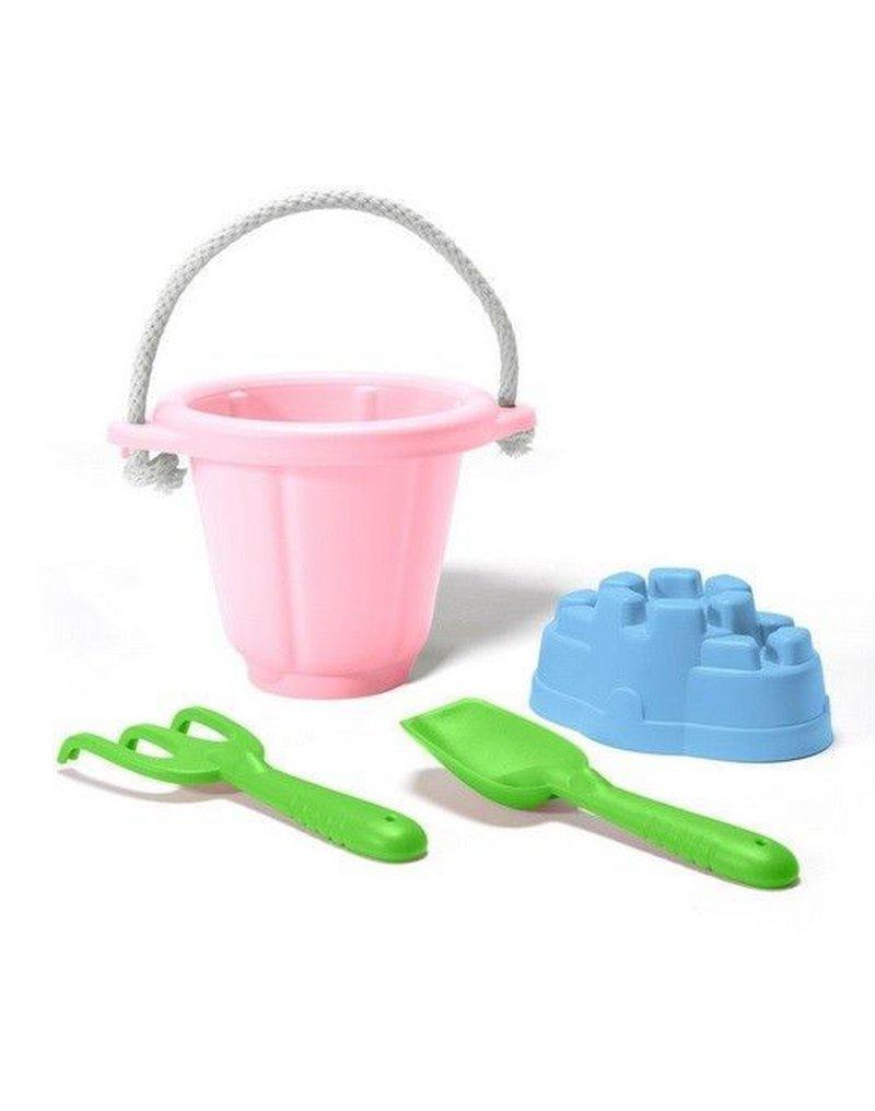 Greentoys - Green Toys zestaw do piasku Różowy