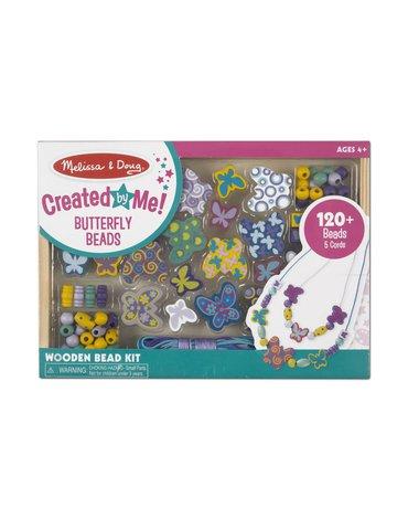 Melissa&Doug® - Zestaw koralików Motylki