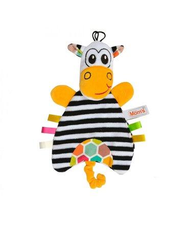Mom'sCare - Przytulanka - pacynka Zebra