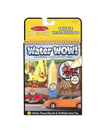 Melissa&Doug® - Kolorowanka wodna Malowanka Pojazdy WaterWOW