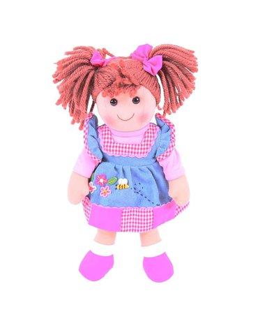 Bigjigs - Duża lalka szmaciana Marlenka