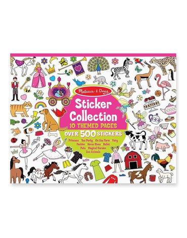 Melissa&Doug® - Zestaw naklejek dla dziewczynek - 700 sztuk