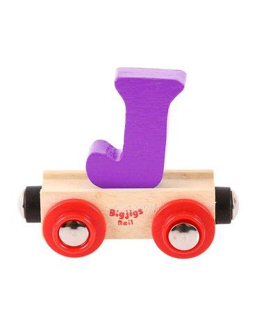 BigjigsRail - Wagonik literka J