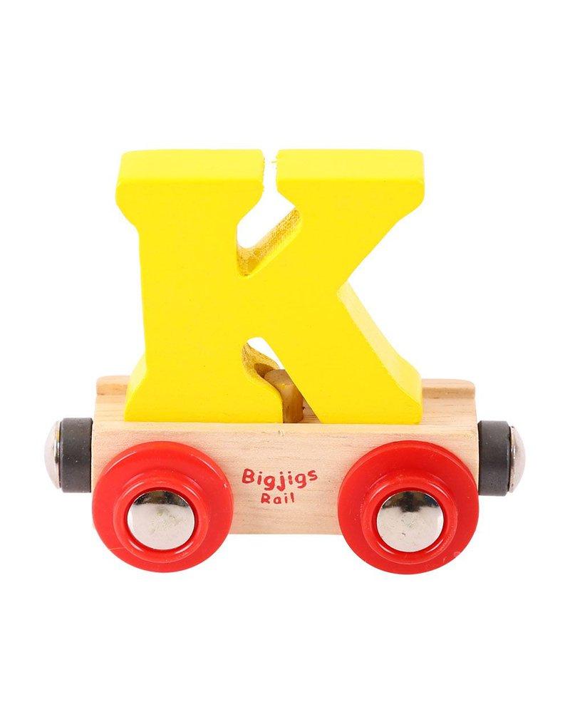 BigjigsRail - Wagonik literka K