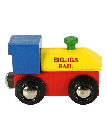 BigjigsRail - Lokomotywa początkowa do pociągu z literek i cyferek