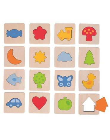 Goki - Memo dotykowe kształty