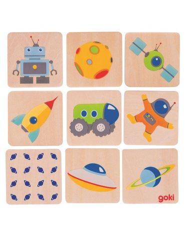 Goki - Memo kosmiczne dla najmłodszych  8 par