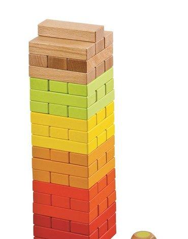 Lelin - Wieża z klocków - gra towarzyska
