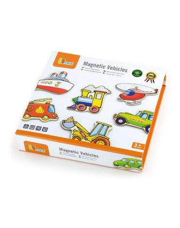Viga - Magnesy drewniane dla dzieci - Pojazdy