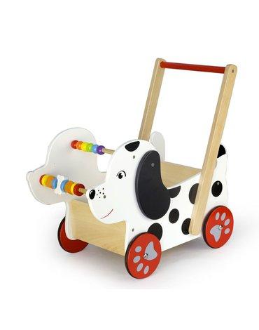 Viga - Pchacz chodzik wózek - Piesek dalmatyńczyk