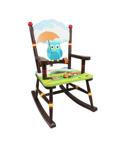 Fantasy Fields - Fotel krzesło na biegunach dla dzieci Zaczarowany Las