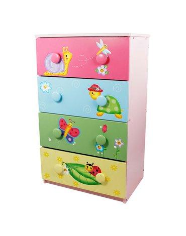 Fantasy Fields - Komoda z szufladami Magiczny Ogród - szafka dla dzieci