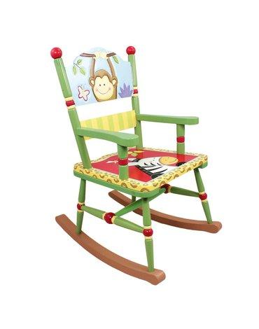 Fantasy Fields - Krzesło fotel na biegunach Słoneczne Safari