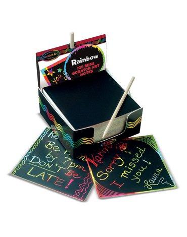 Melissa&Doug® - Zdrapka - zestaw karteczek do grawerowania ScratchArt