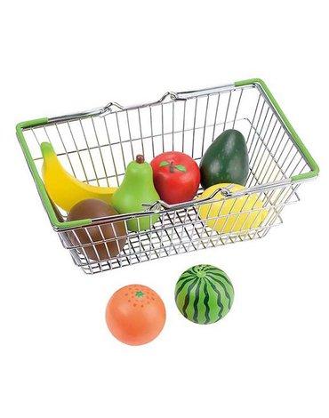 Lelin - Koszyk sklepowy z owocami