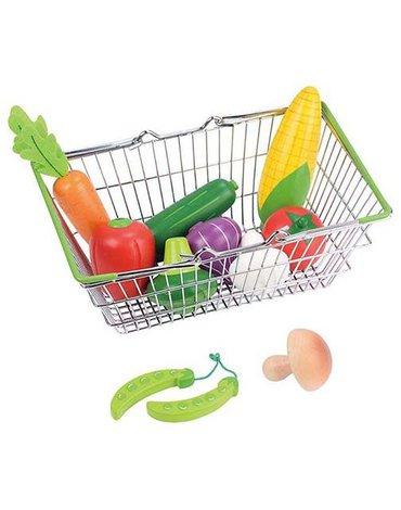 Lelin - Koszyk sklepowy z warzywami