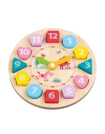 Lelin - Zegar z klockami
