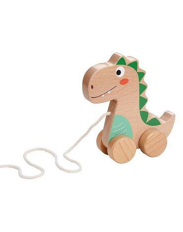 Lelin - Dinozaur na sznurku do ciągnięcia
