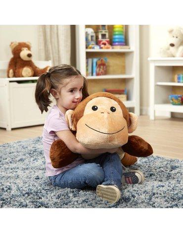 Melissa & Doug - Przytulanka i poduszka małpka
