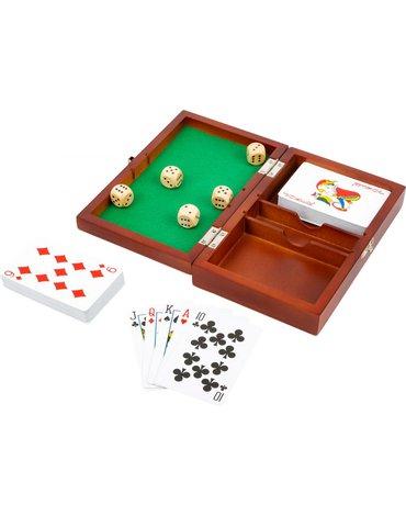 Sfd - Pudełko do gry w karty i kości