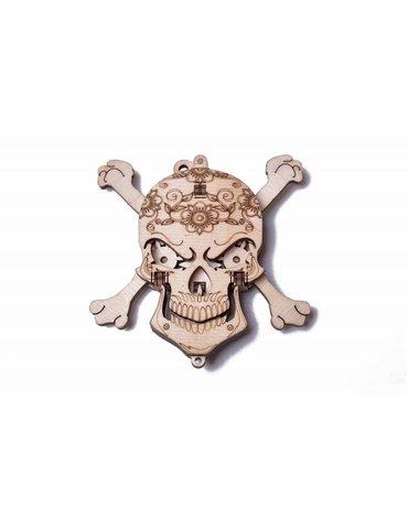 Wood Trick - WoodTrick Puzzle mechaniczna czaszka