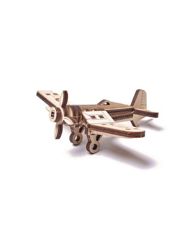 Wood Trick - WoodTrick Puzzle mechaniczny samolot Korsarz