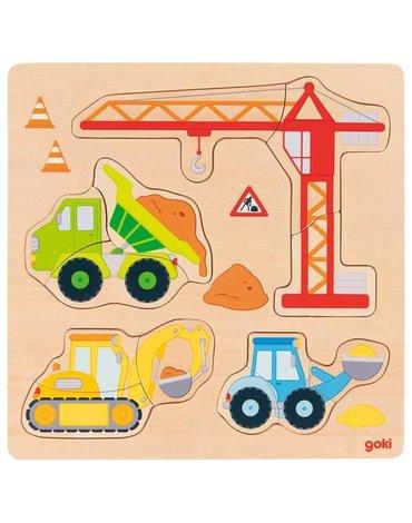 Goki® - Puzzle Goki pojazdy budowy