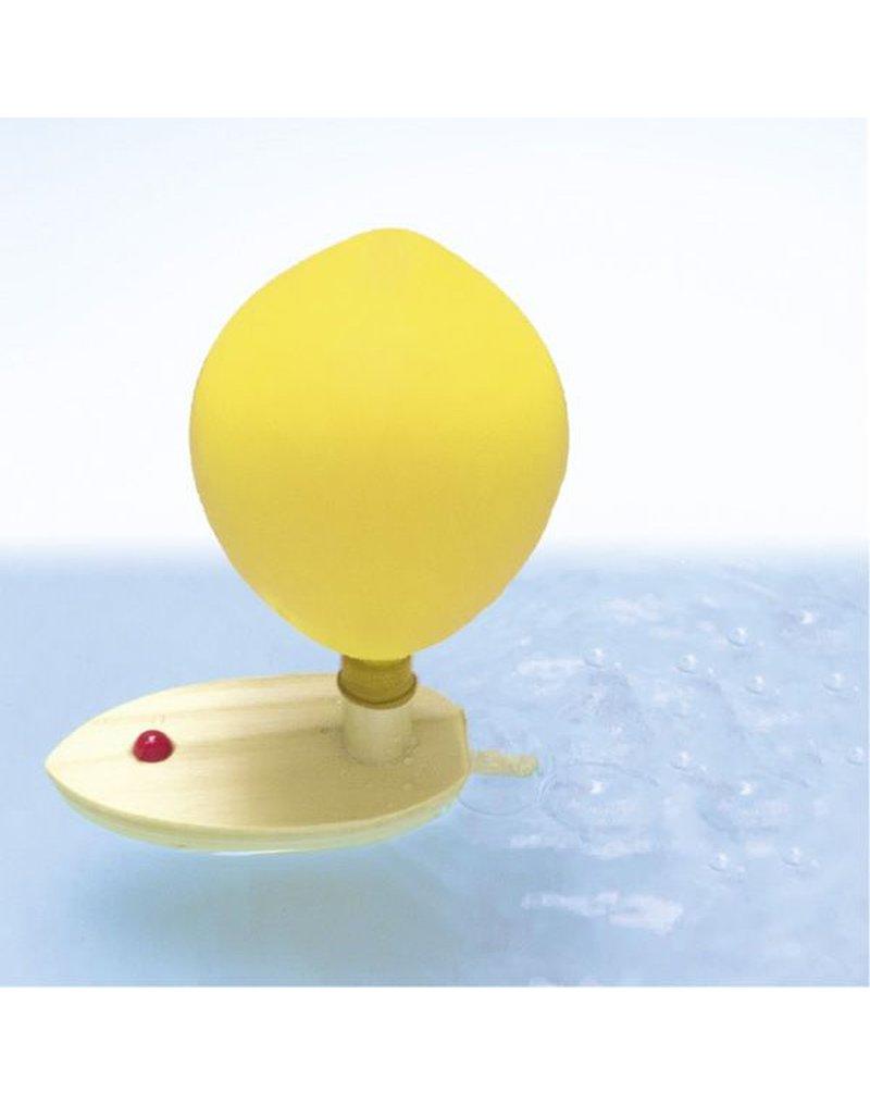 Goki - Łódka napędzana powietrzem z balonika
