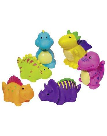 Goki® - Zestaw dinozaurów do kąpieli - 6 sztuk