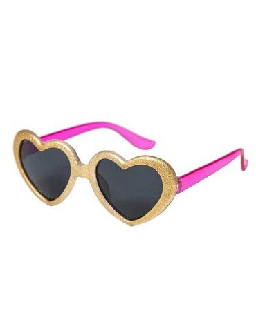Rockahula Kids - okulary dziecięce 100% UV Glitter heart