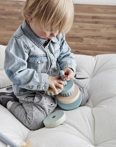 Kids Concept Edvin Wieża Drewniana Zielona