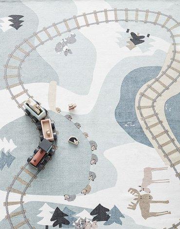 Kids Concept Edvin Dywan Las 130x170 cm