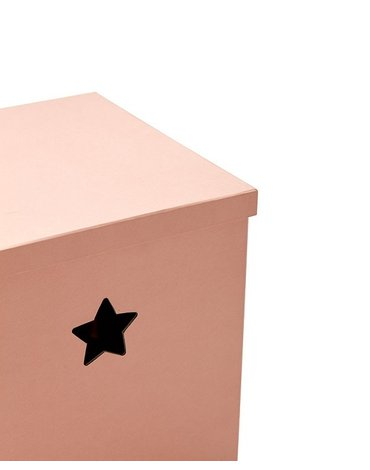 Kids Concept Star Pudełko Kartonowe Pink