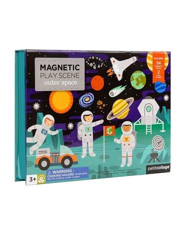 Petit Collage Układanka Magnetyczna Kosmos