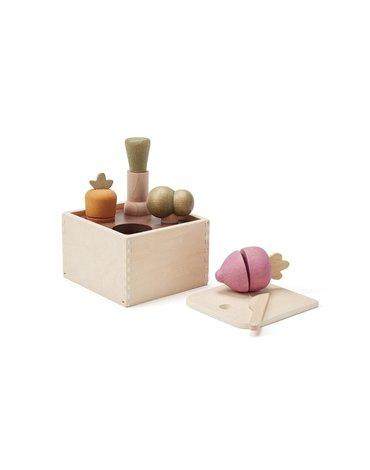 Kids Concept Drewniane Warzywa Sorter