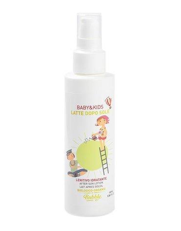 Bubble&CO - Organiczne Kojące Mleczko po Opalaniu dla Dzieci i Niemowląt, 100 ml, 0m+