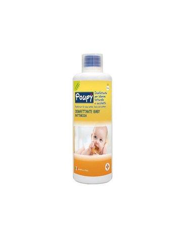 Poupy - Płyn do Dezynfekcji Butelek, Smoczków i Gryzaków dla Dzieci, 1000 ml