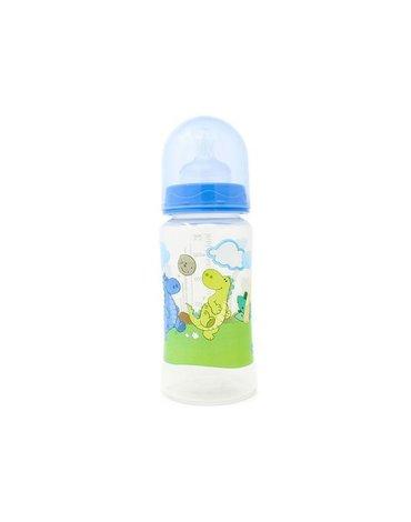 Poupy - Butelka do Karmienia z Szeroką Szyjką, Niebieska, 300 ml, 0m+
