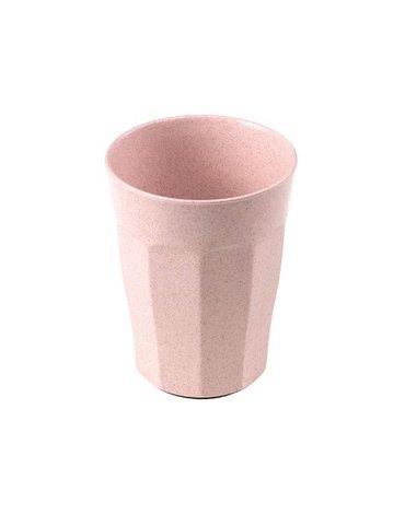 KIDodo - Nieprzewracalny Kubek z Przyssawką z Eko Plastiku, Różowy, 12m+